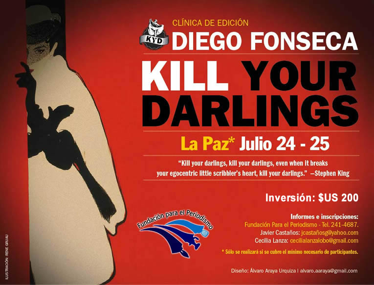 La Paz, Taller Kill Your Darlings