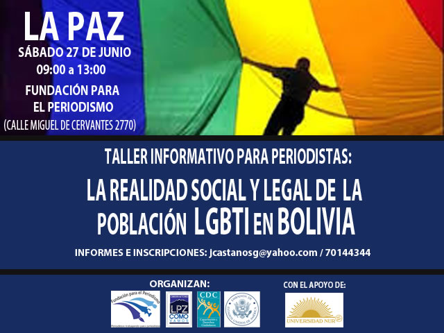 La Paz, Taller informativo: La realidad social y legal de la poblaci?n LGBTI en Bolivia