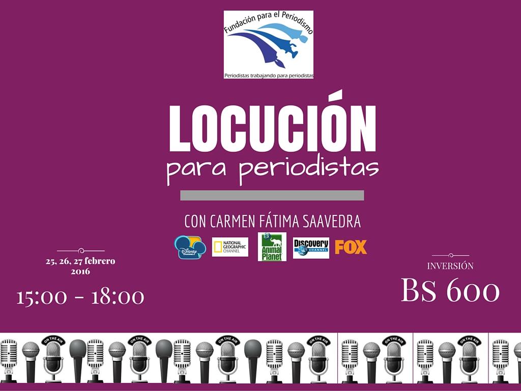 La Paz, Locuci?n para Periodistas