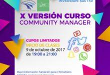 COMMUNITY MANAGER 10ma versión