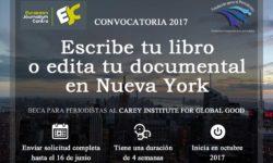 Escribe tu libro o edita tu documental en Nueva York