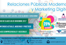 Diplomado en Relaciones Públicas Modernas y Marketing Digital