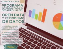 Convocatoria Open Data y Periodismo de datos