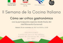 Semana de la cocina italiana