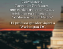 Convocatoria: Buscamos Profesores que participaron o impulsan iniciativas en el programa Alfabetización en Medios