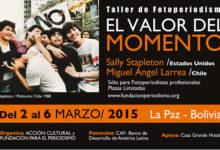 Marzo de 2015 llega con el Taller de Fotoperiodismo