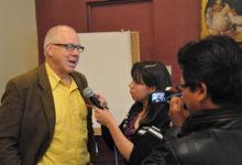 Ciclo de talleres con periodista Oliver Wates empieza