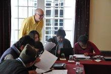 Concluye con éxito taller sobre periodismo dictado por Oliver Wates