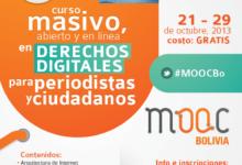 Se dictará curso gratuito MOOC para aprender sobre derechos digitales