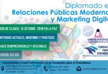 Relaciones Públicas Modernas y Marketing Digital 2018