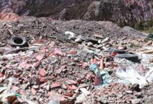 Mallasa, de Parque Nacional al botadero más grande de escombros