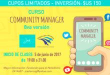 Community Manager 8va versión