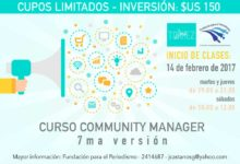 Community Manager 7ma versión – Arrancamos este 14 de febrero