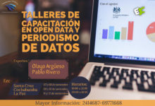 Inscripción a Talleres de Open Data y Periodismo de Datos
