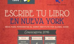 CONVOCATORIA: BECA PARA PERIODISTAS AL CAREY INSTITUTE FOR GLOBAL GOOD
