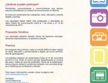 VI Concurso de Reportajes Periodísticos: Los derechos sexuales y derechos reproductivos. Los más humanos de los derechos