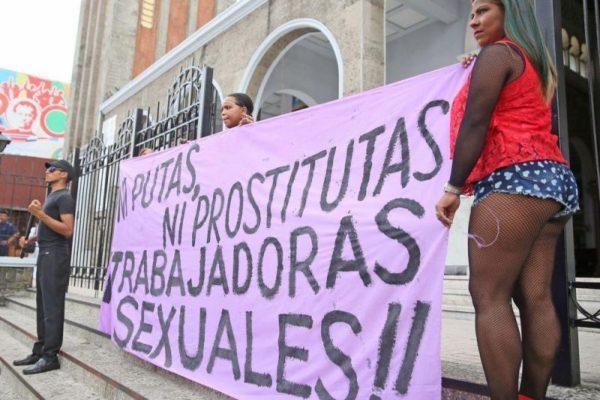 Trabajadoras sexuales que no encuentran justicia