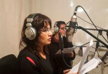 Participantes grabaron en estudio de radio