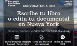 Escribe tu libro o edita tu documental en Nueva York 2019