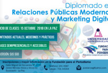 Relaciones Públicas Modernas y Marketing Digital 2018