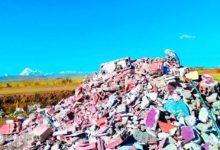 El Alto: escombros aumentan con el crecimiento de esa urbe
