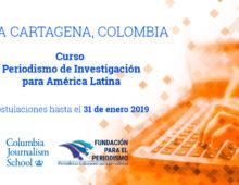 Periodismo de Investigación para América Latina
