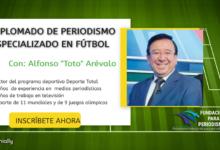 Diplomado de Periodismo Especializado en Fútbol